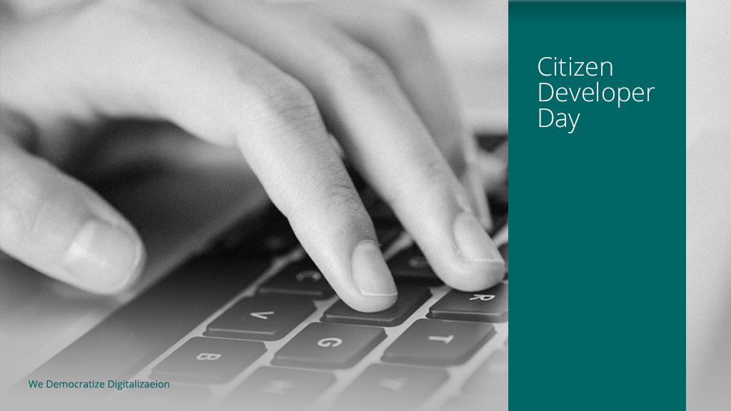 Citizen Developer Days